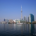 Toronto, view from the lake